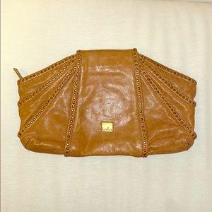 Kooba Brown Leather Clutch